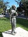 János Balázs statue, NW, 2020 Salgótarján.jpg