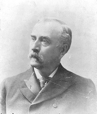 United States Secretary of Agriculture - Image: J. Sterling Morton, head and shoulders portrait, facing left