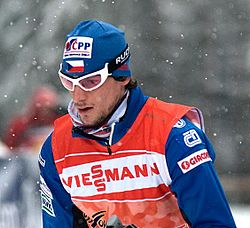 Martin Jakš at the 2010 Tour de Ski in Oberhof