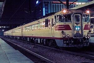Hokuto (train) - Image: JNR Hokkaido kiha 80 hokuto