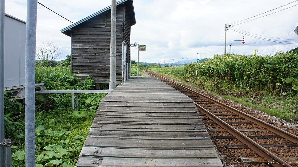 JR Rumoi-Main-Line Mappu Station Platform