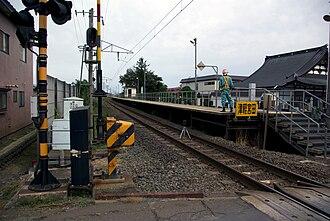 Tsugaru-Miyata Station - Tsugaru-Miyata Station in September 2009