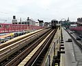 J train; on Williamsburg Bridge.jpg