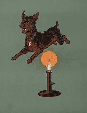 Jack is a dog, in Denslow's version