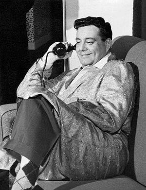 """Westinghouse Studio One - Jackie Gleason in """"The Laugh Maker"""" (1953)"""