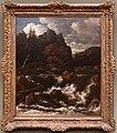 Jacob van ruisdael, paesaggio con cascata.jpg