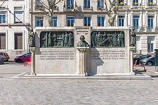 monument à Jacquard