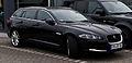 Jaguar XF Sportbrake 3.0 D-S (Facelift) – Frontansicht, 21. April 2013, Münster.jpg