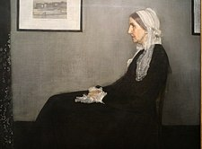 James whistler, arrangiamento in grigio e nero 1 (la madre dell'artista), 1871, 02.JPG