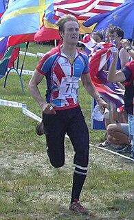 Jamie Stevenson (orienteer) British orienteer
