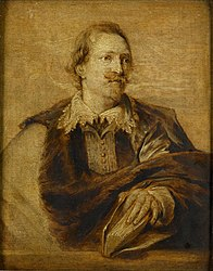 Anthony van Dyck: Jan Caspar Gevaerts (1593-1666). Jurist, historian, philosopher and poet