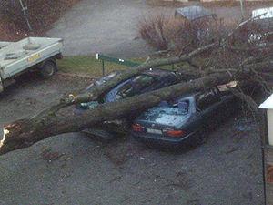 Automobile folklore - Car accident omen