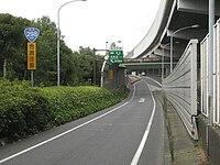 Japanese national route 298 002 on Soka, Saitama prefecture, Japan.jpg