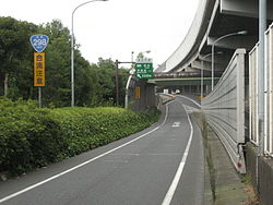 Japanese national route 298 002 on Soka, Saitama prefecture, Japan.jpg