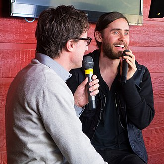 Artifact (film) - Leto promoting Artifact at the South by Southwest in March 2013