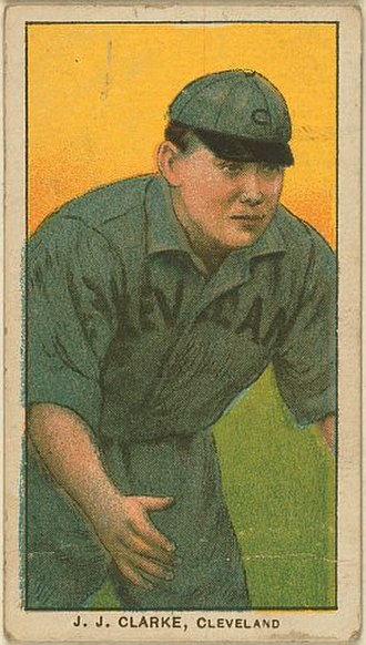 Nig Clarke - Baseball card of Clarke