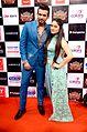 Jay Bhanushali and Mahhi Vij at the musical concert.jpg