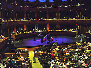 Tony Bennett and Lady Gaga: Cheek to Cheek Live! - The Rose Theater at the Lincoln Center for the Performing Arts, where the concert took place