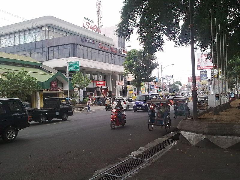 File:Jenderal Sudirman Street in Purwokerto.jpg