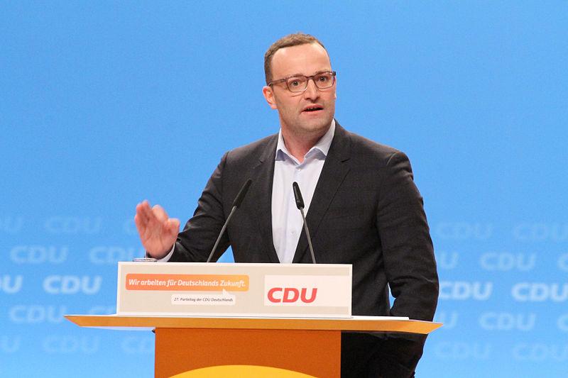 File:Jens Spahn CDU Parteitag 2014 by Olaf Kosinsky-18.jpg