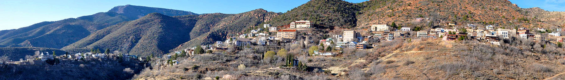 View of Jerome from Jerome State Historic Park