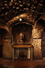Prison of Christ before renovation Jerusalem - The Old City - 155 (4260945657).jpg