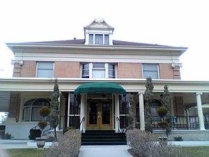Jesse Knight House - Image: Jesse Knight Mansion 2004Provo UT