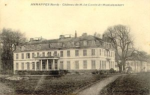 Annappes - Château de Montalembert ca 1900