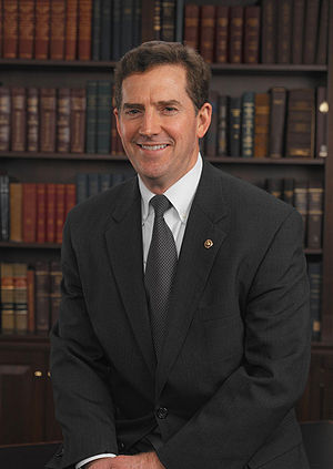 Official photo of U.S. Senator {{w|Jim DeMint}}.