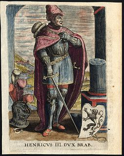Henry III, Duke of Brabant Dutch noble