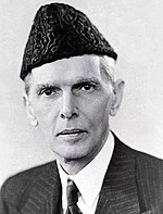 Muhammad Ali Jinnah (1876-1948) served as Pakistan's first Governor-General and the leader of the Pakistan Movement
