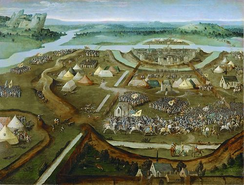 Battle of Pavia by Joachim Patinir Joachim Patinir 009.jpg