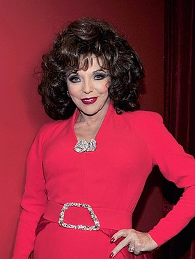Joan Collins, interprète d'Alexis dans la version originale.