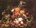 Johan Laurentz Jensen - En stadig-liv på en kurv med frugt og roser.jpg