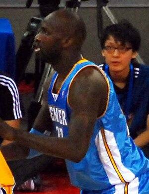 Johan Petro - Petro with the Denver Nuggets.