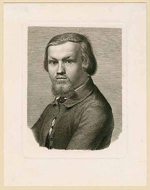 Johann Burger - Self-portrait
