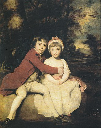 John Parker, 1st Baron Boringdon - Image: John&Theresa Parker As Children By Joshua Reynolds