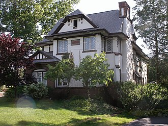 National Register of Historic Places listings in Syracuse, New York - Image: John G Ayling House 2011 06 19a