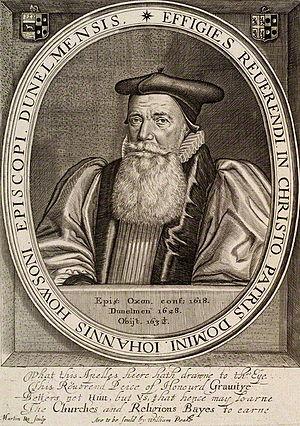 John Howson - John Howson, engraving by Martin Droeshout