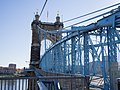 John A Roebling Suspension Bridge Ohio River Cincinnati Oh (184540397).jpeg