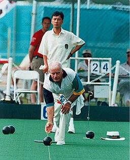 John Forsberg, Australian Lawn Bowls competitor