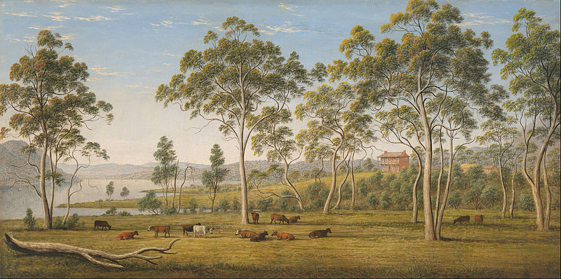 File:John Glover - Mr Robinson's house on the Derwent, Van Diemen's Land - Google Art Project.jpg