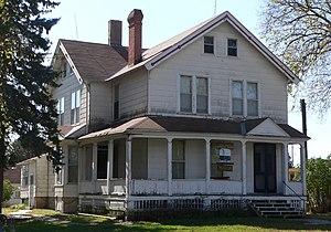 John H. Mickey - Image: John Hopwood Mickey house from NE