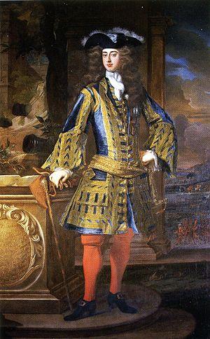 John Manners, 2nd Duke of Rutland - John Manners, 2nd Duke of Rutland, oil by Jean-Baptiste Closterman c. 1730s, Belvoir Castle