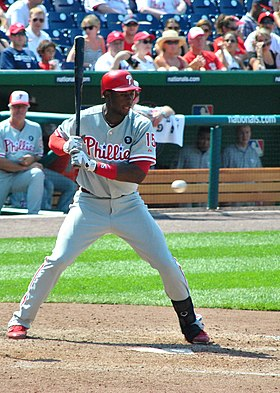 John Mayberry Jr batting.jpg