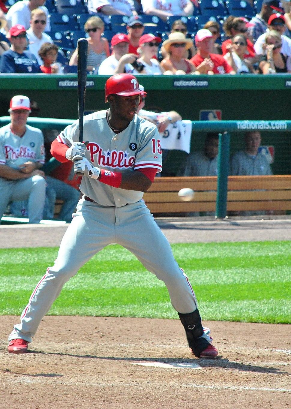 John Mayberry Jr batting