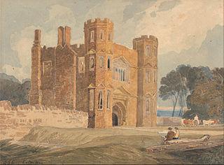 Gate-way, Saint Mary's Wiggenhall, Norfolk