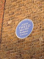 John Tweed blue plaque.jpg