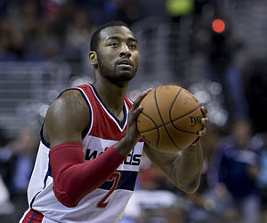 John Wall (basketball) - Wall with the Washington Wizards in 2014
