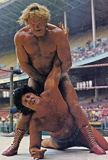 Johnny Powers and Johnny Valentine - Wrestling Revue - January 1973 cover (cropped).jpg